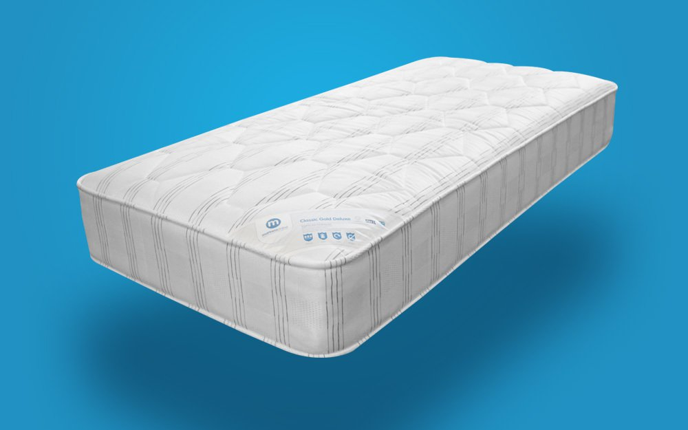 Classic Gold Deluxe Mattress Small Double From Fast Mattress