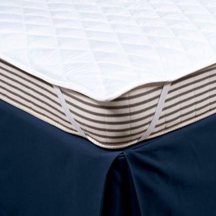 Double Quilted Mattress Pad Elasticated Corners Fast