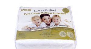 Dreameasy Luxury Pure Cotton Mattress Protector