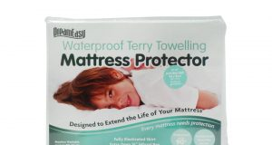 Dreameasy Waterproof Terry Mattress Protector