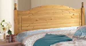 Friendship Mill Orlando Solid Pine Wooden Headboard