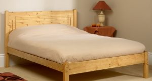 Friendship Mill Vegas Wooden Bed Frame