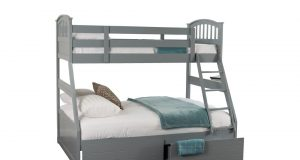 Sweet Dreams Epsom Wooden Three Sleeper Bunk Bed