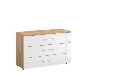 Lorenzo 3 Drawer Wide Chest of Drawers