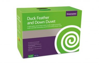 Natural Duck Feather and Down Duvet