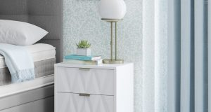 Bexley 2 Drawer Bedside Table
