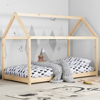 House Pine Wooden Bed Frame - 3ft Single