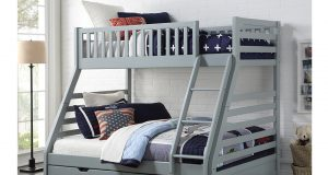 Sweet Dreams States Wooden Three Sleeper Bunk Bed