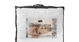 Luxury 10.5 Tog Hungarian Goosefeather and Down Duvet