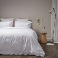 Luxe Cotton Bedding Bundle | Snow | Double | Deep Fitted Sheet